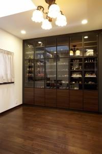 H邸 飾り棚