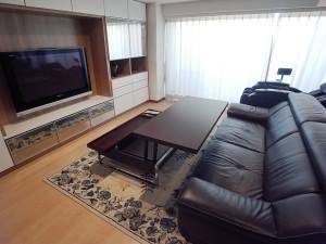 H邸 ソファテーブル