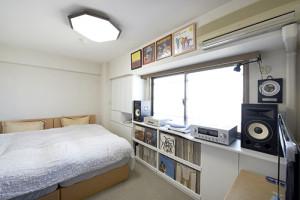 T邸 寝室収納