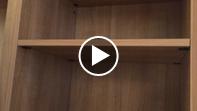 ② 可動棚の脱着方法