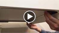 ⑧ カップボード用引出の脱着方法